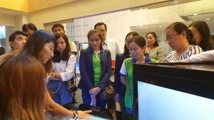Study tour under the topic of risk management and customer service in Thailand.