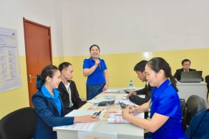 Conduct training to the staff under the topic of financial Assessment to support the knowledge and capacity