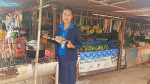 Conduct training Financial Education and visited the business of the clients at ban Khoknoy