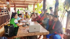 EMI Conduct Training Financial Education to the clients at Donsangphay Village, Parknguem District, Vientiane Capital.