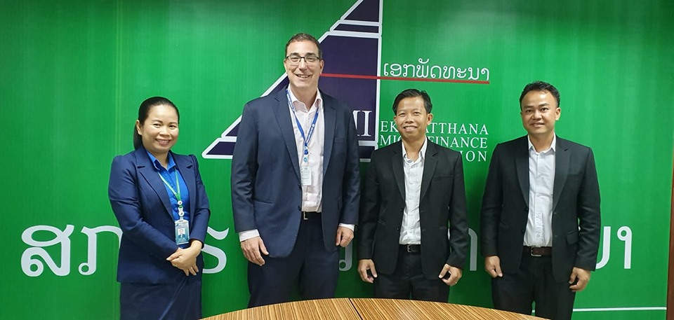 Welcome Mr. Feng Xiaopingso, representative of the International Monetary Fund (IMF) in the region, Lao PDR and Vietnam to EMI
