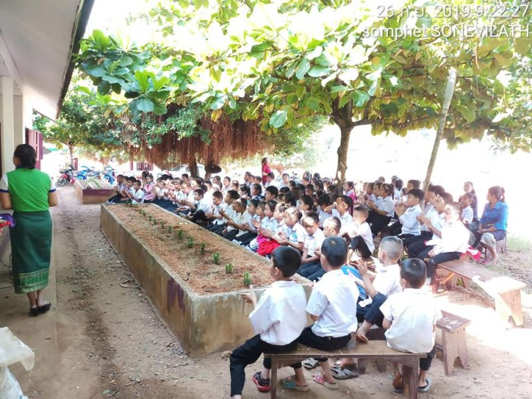 On 26 September 2019 EMI Conducted orientation about financial education and important of saving money for the future to the students at Sengsavang Primary School, Parklay District, Xayaboury Province.
