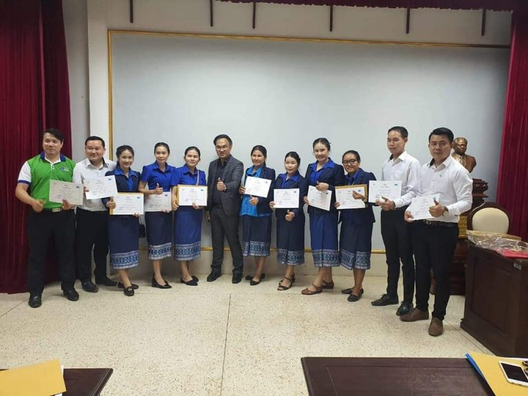 EMI send the staff to join the training to develop work skills under the topic: Audit Intelligent Technique at Banking Institute.