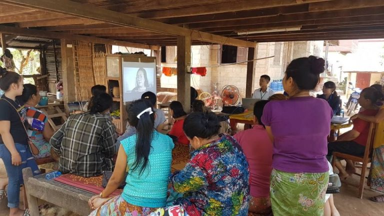 EMI Conduct training financial education to the clients at Phosy Village, Hadxayfong District, Vientiane Capital to support them to understand financial Management, accounting basic and budgeting for the future.
