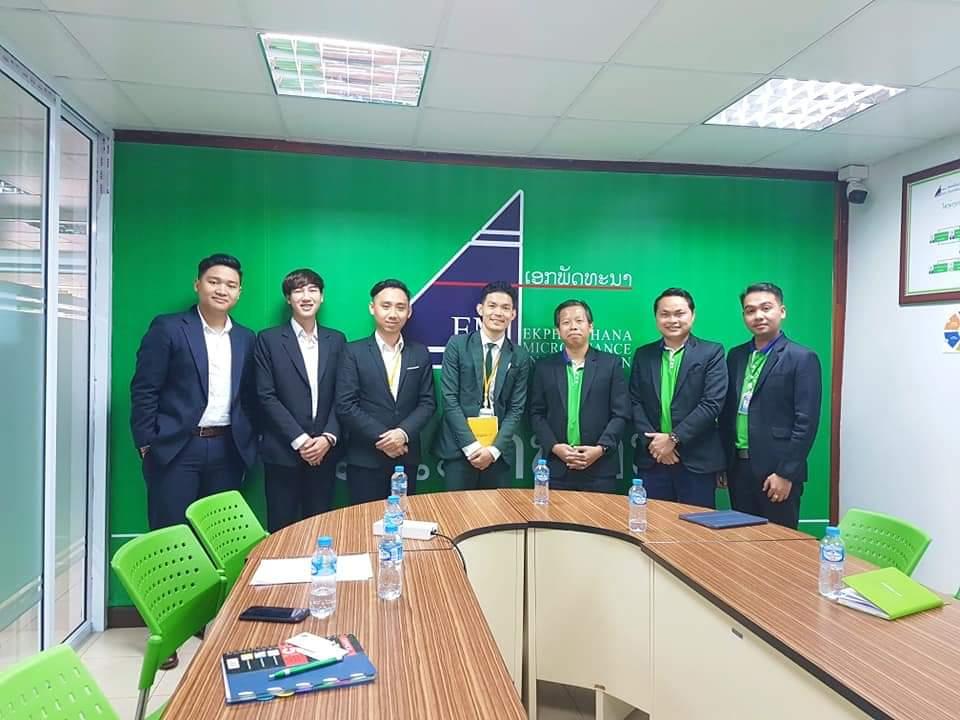 Management Team of EMI Welcome the team from Phongsavanh Bank